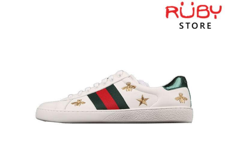 Giày Gucci Ong Sao Replica 1:1 Cao Cấp