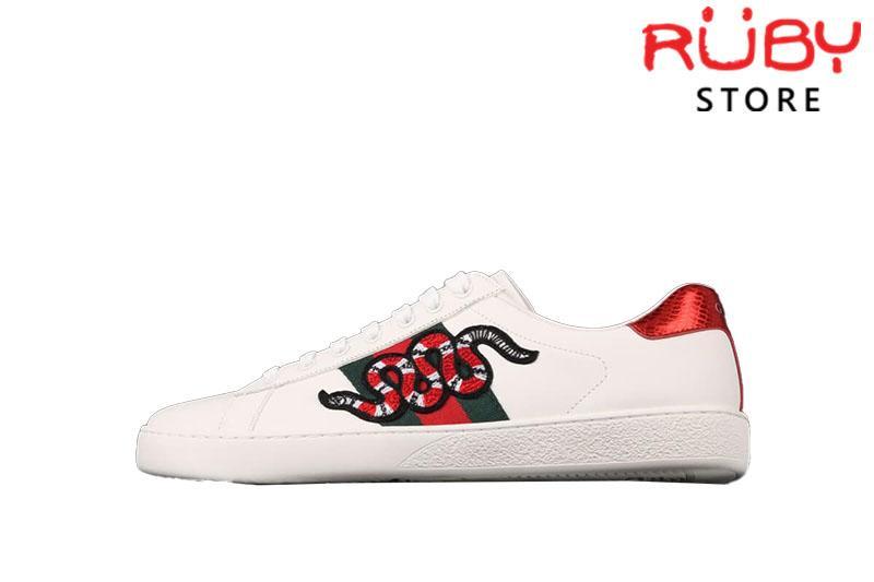 Giày Gucci Rắn Replica 1:1 Cao Cấp