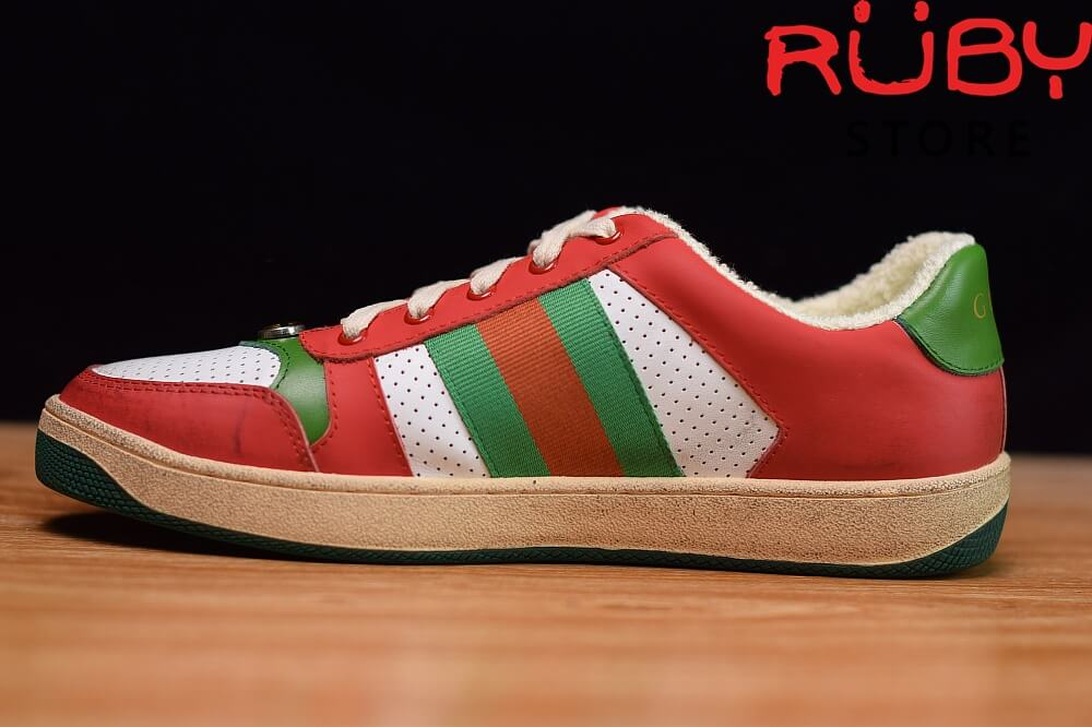 giày-gucci-Screener-Leather-Sneaker(đỏ)2019 (8)