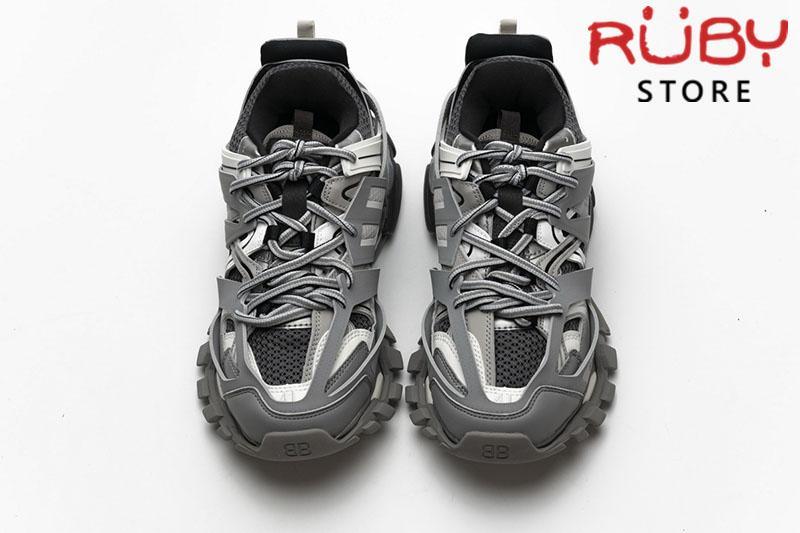 Giày Balenciaga Track Xám Trắng Replica 1:1 (Siêu Cấp)