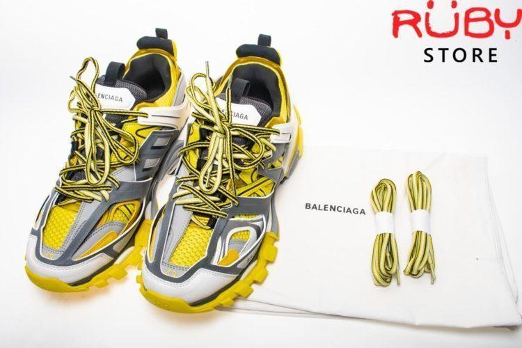 giày balenciaga track vàng replica 1:1 siêu cấp