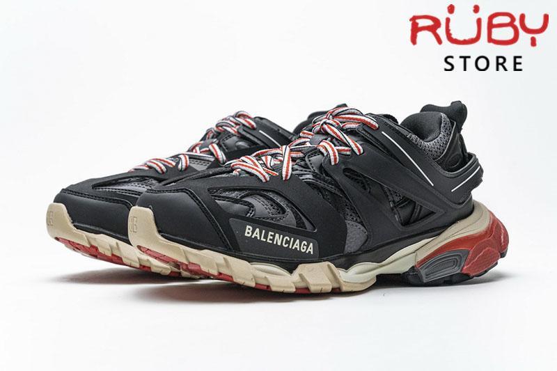 Giày Balenciaga Track 3.0 Đen Đỏ Siêu Cấp