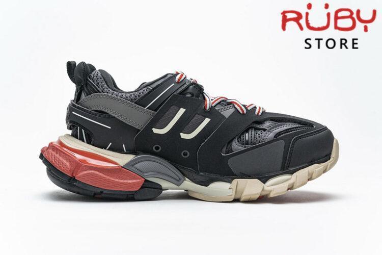 giày balenciaga track siêu cấp đen đỏ