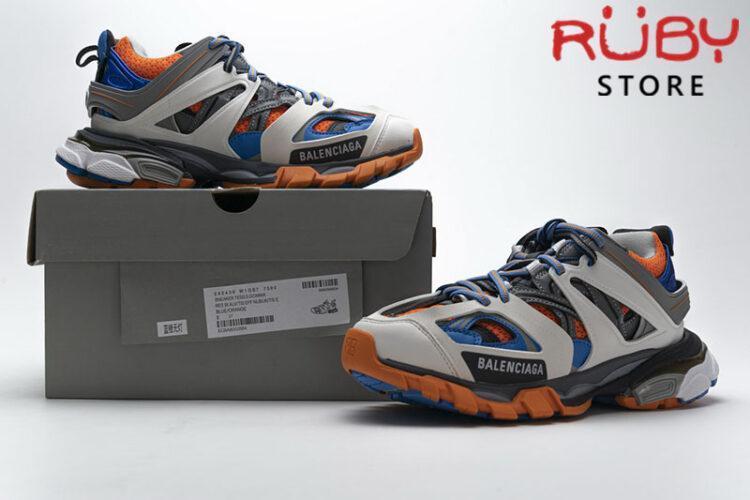 Giày Balenciaga Track 3.0 Trắng Xanh Cam Replica 1:1 (Siêu Cấp)