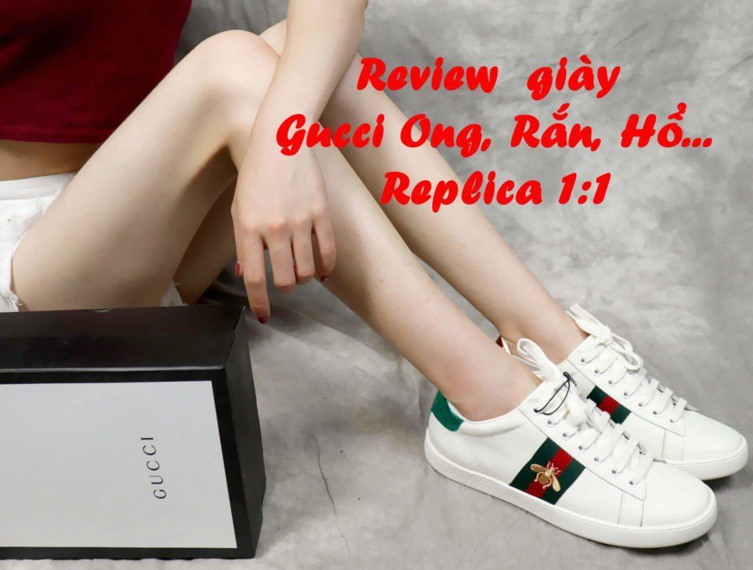 giày gucci ong replica 1:1