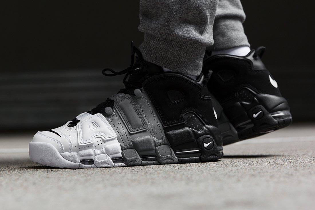Giày Nike Uptempo cho nam on feet