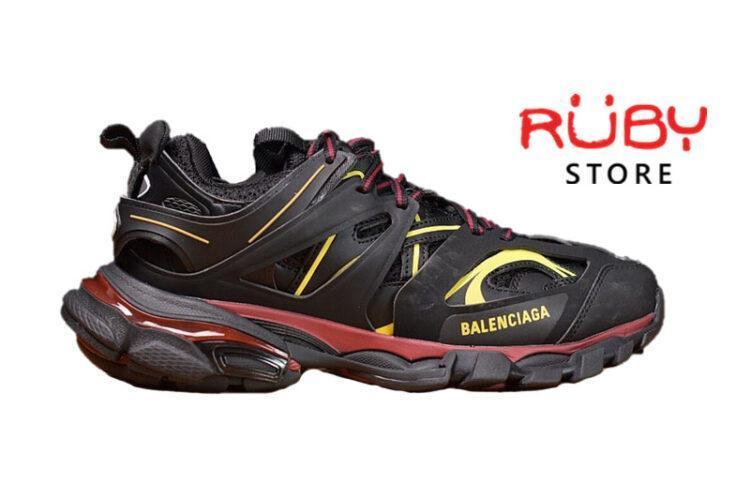 Giày Balenciaga Track Đen Đỏ Vàng Replica 1:1 (Siêu Cấp)
