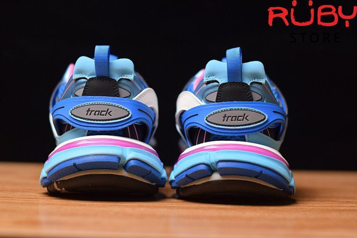 giày balenciaga track pk god xanh hồng 2019