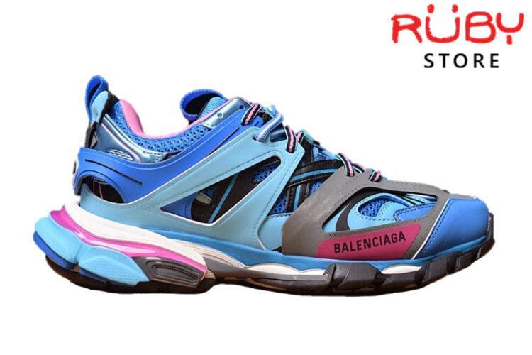 Giày Balenciaga Track 3.0 Xanh Hồng Replica 1:1 (Siêu Cấp)
