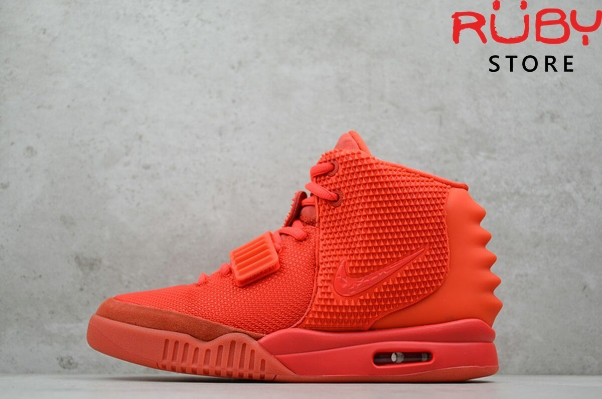 giày nike air yeezy 2 red october pk god