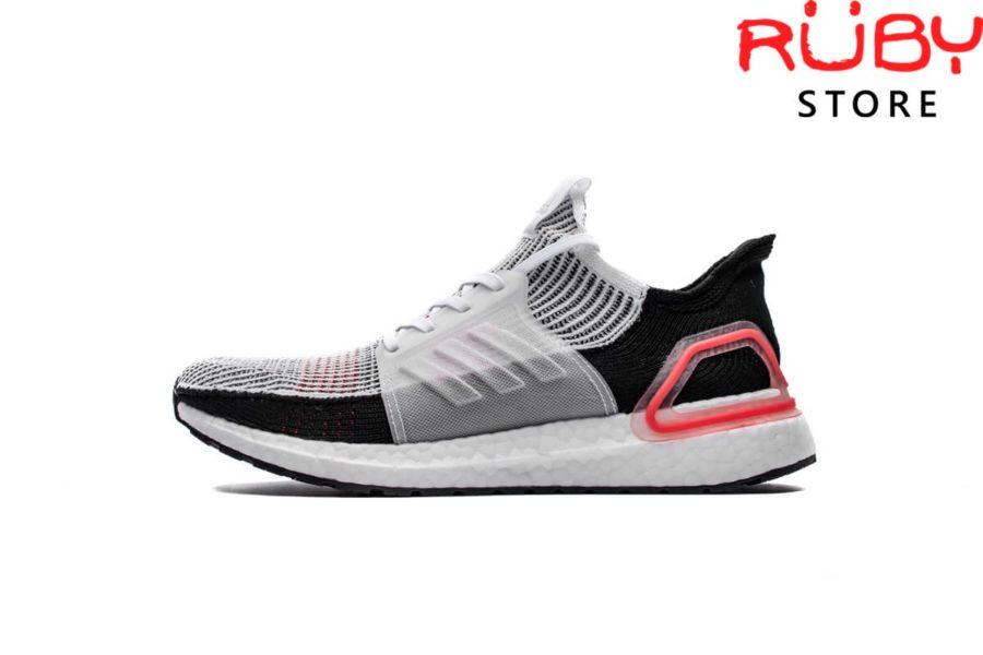 Giày Ultraboost 5.0 Replica 11-Trắng Đen Hồng (2019)