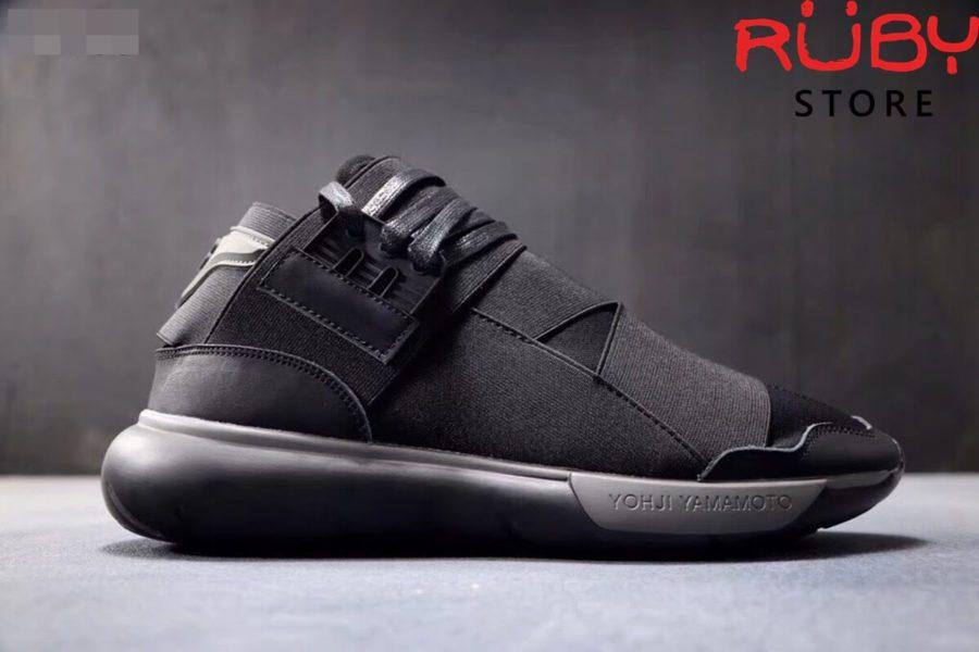 giày y3 qasa high sneakers 2019 đen xám replica 1.1