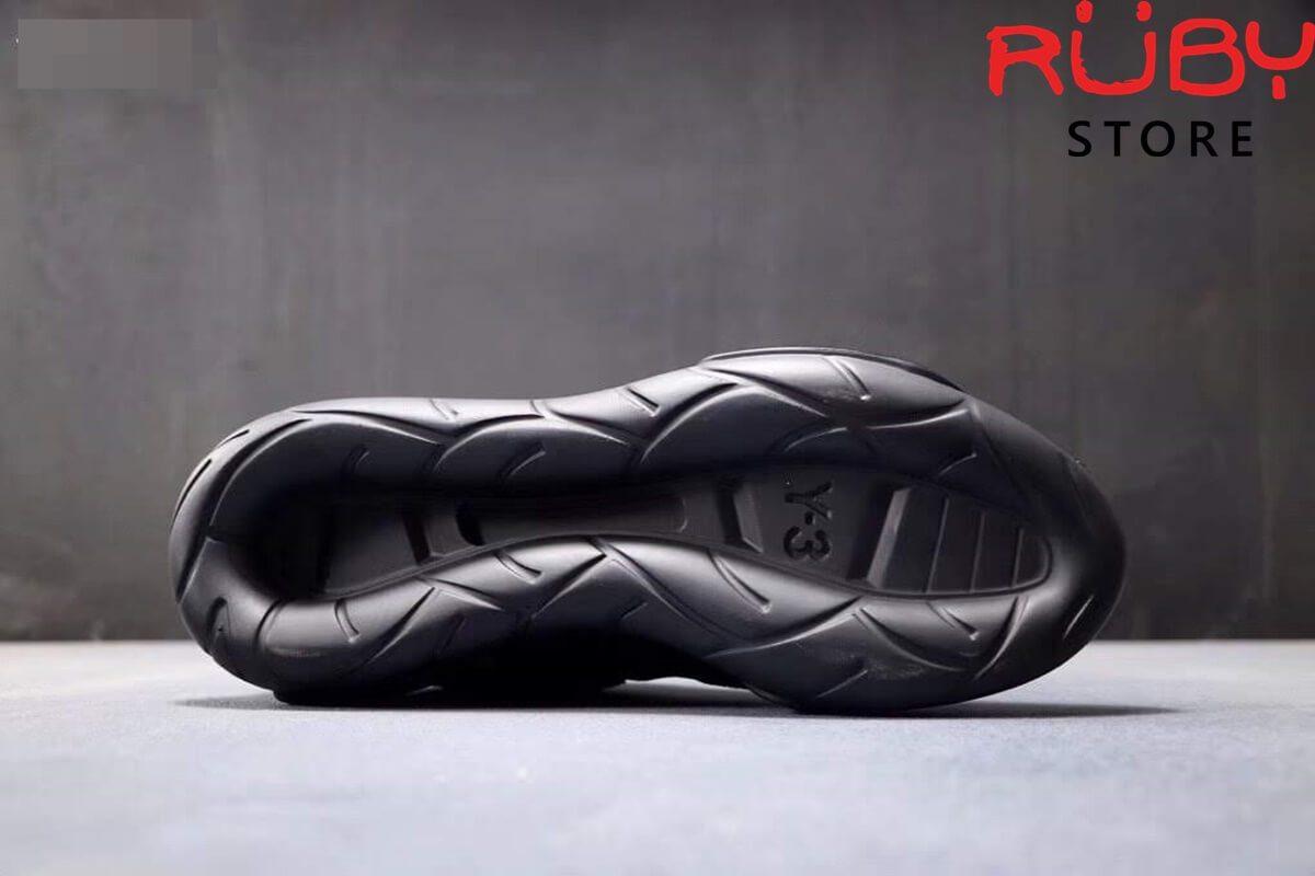 giày y3 qasa high sneakers 2019 replica 1:1 đen hoa văn