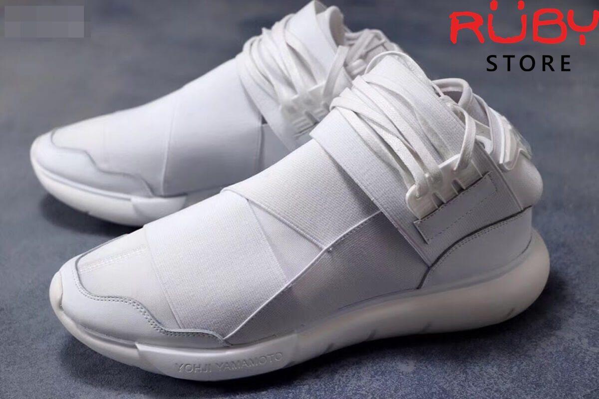 giày y3 qasa high sneakers 2019 trắng full replica 1.1