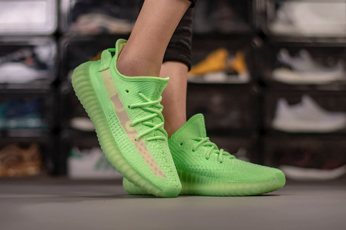 Vải primeknit thông thoáng cho giày Yeezy boost 350 v2 gid