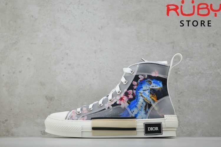 giày dior b23 high top dior oblique sneaker khung long