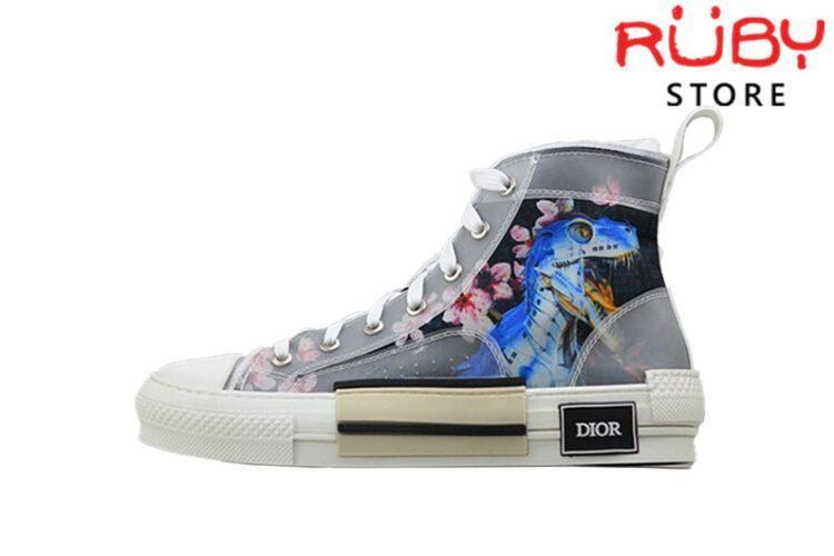 Giày Dior B23 High Top Sneaker In Dior Oblique Replica 1:1 Khủng Long