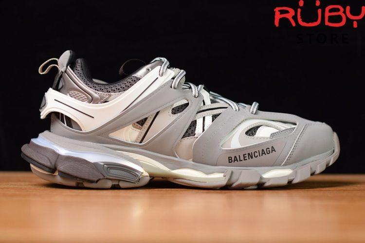giày balenciaga track led trainers xám siêu cấp ở hcm