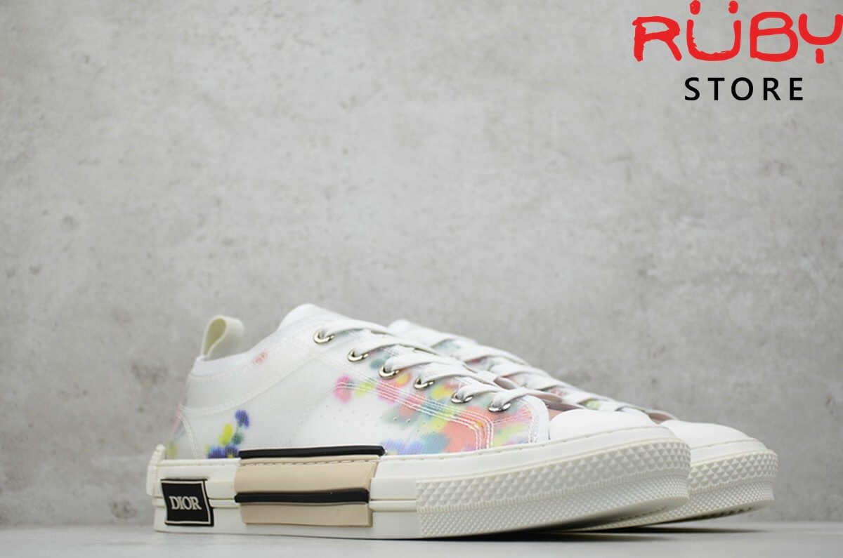 giày dior flowers technical canavs b23 low top sneaker