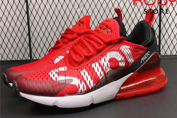 giày nike airmax 270 đỏ x supreme ở hồ chí minh