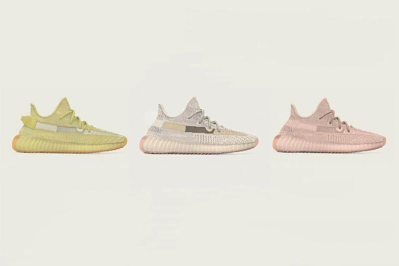 3 màu mới của dòng Yeezy Boost 350V2 gây choáng các Sneaker 07/2019