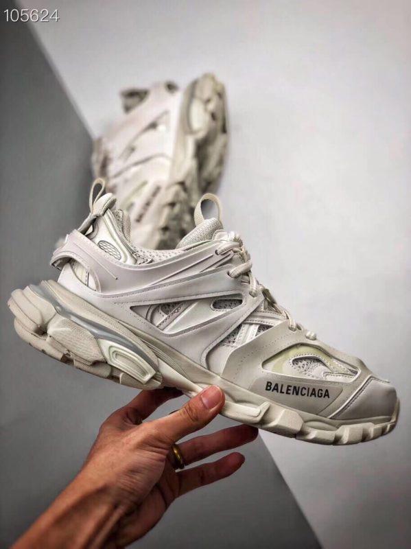 Giày Balenciaga Track Led Trainers màu trắng replica