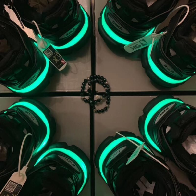 giày balenciaga track led trainers 2019