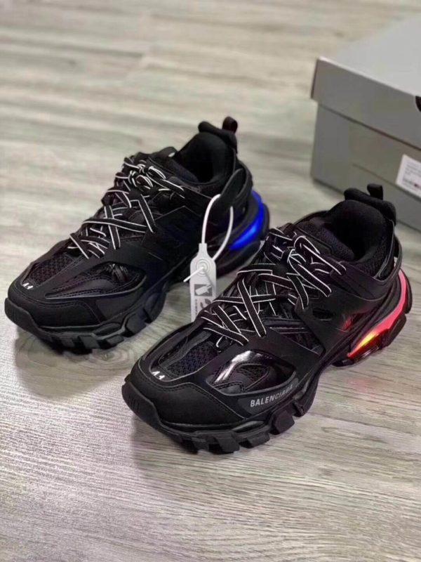 Giày Balenciaga Track Led Trainers đen 2019