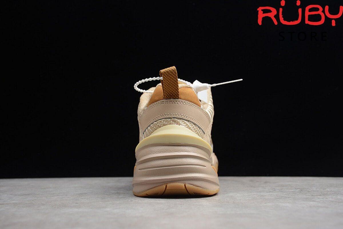 giày nike m2k tekno nâu replica 1:1