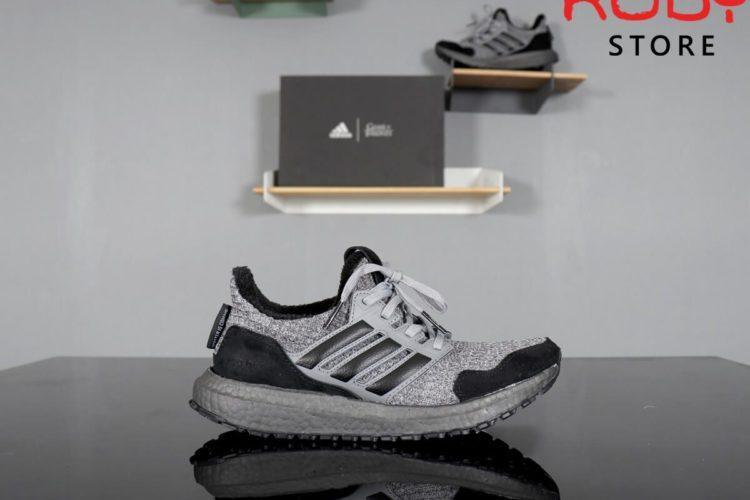 giày ultraboost 4.0 game of thrones replica 1:1 xám đen
