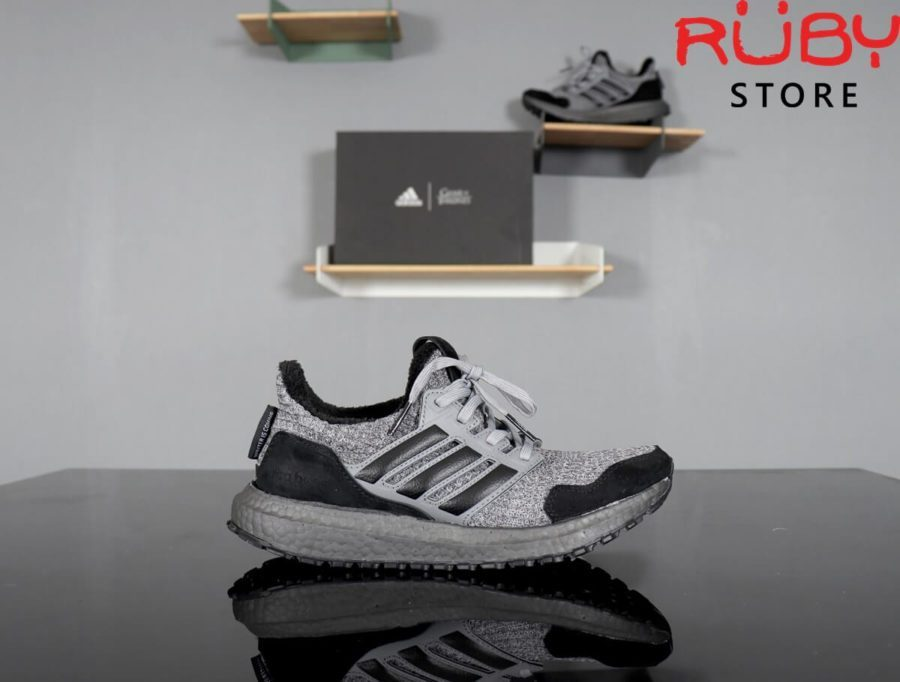 giày ultraboost 4.0 game of thrones replica 1:1 xám đen