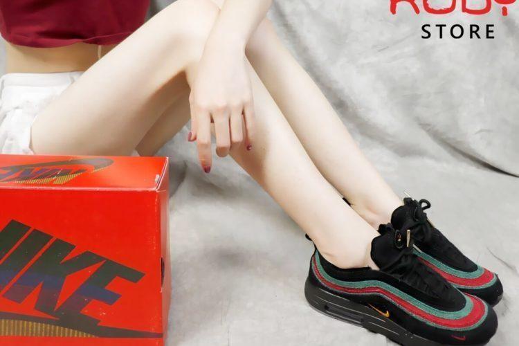 Giày Nike Airmax 197 Sean Wotherspoon x Gucci (Black) Replica 1:1