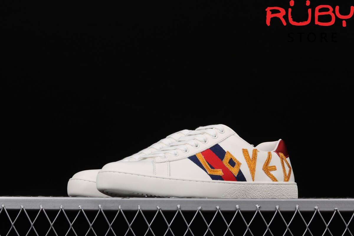 giày gucci love replica 1:1 ở hcm