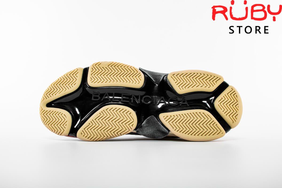 giày balenciaga triple s black silver replica 1:1 ở hcm