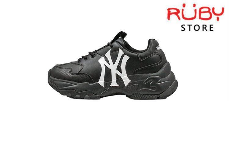 Giày MLB New York Yankees Big Ball Chunky A (Đen)