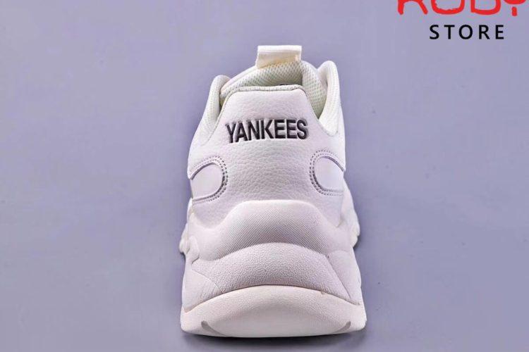 giày mlb new york yankees big ball chunky a white