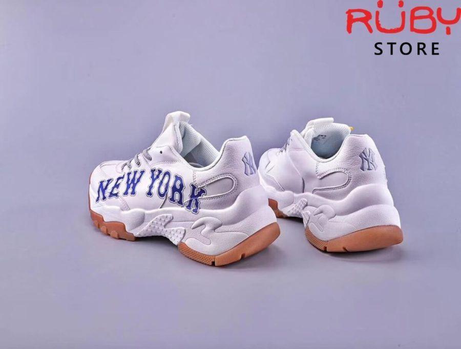 giày mlb new york yankees big ball chunky a white blue
