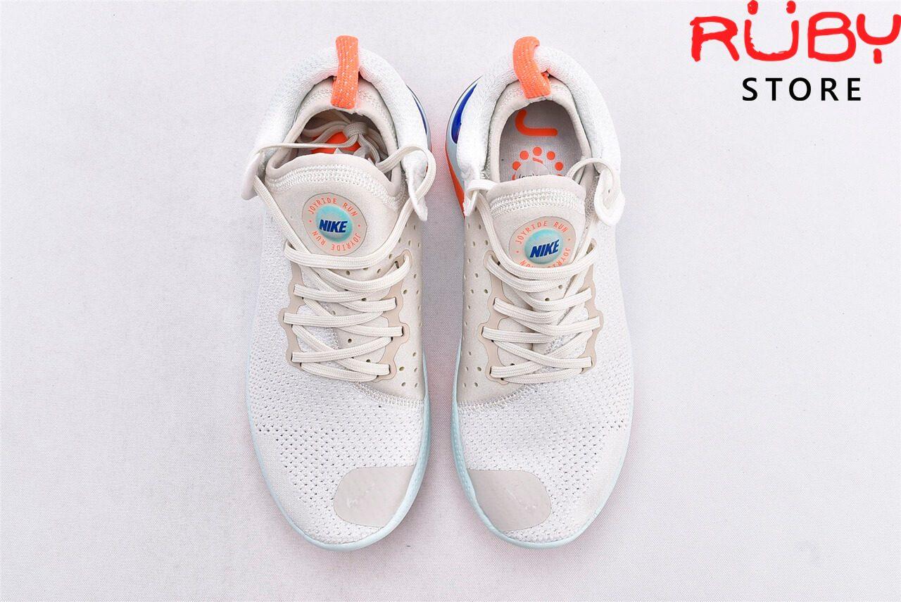 giày nike joyride run flyknit white blue replica 1:1 ở hcm