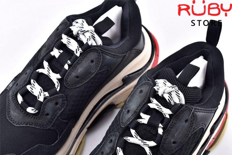 Giày Balenciaga Triple S Black Red Replica 11 Like Real 99,9% (Bản Best) 2019