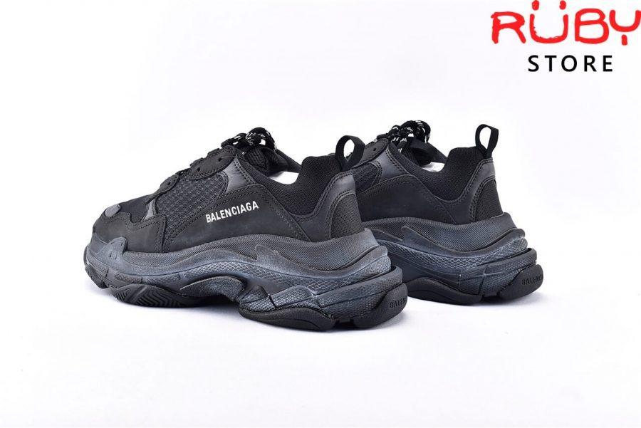 Giày Balenciaga Triple S Black Replica 1:1 Like Real 99,9% (Bản Best) 2019