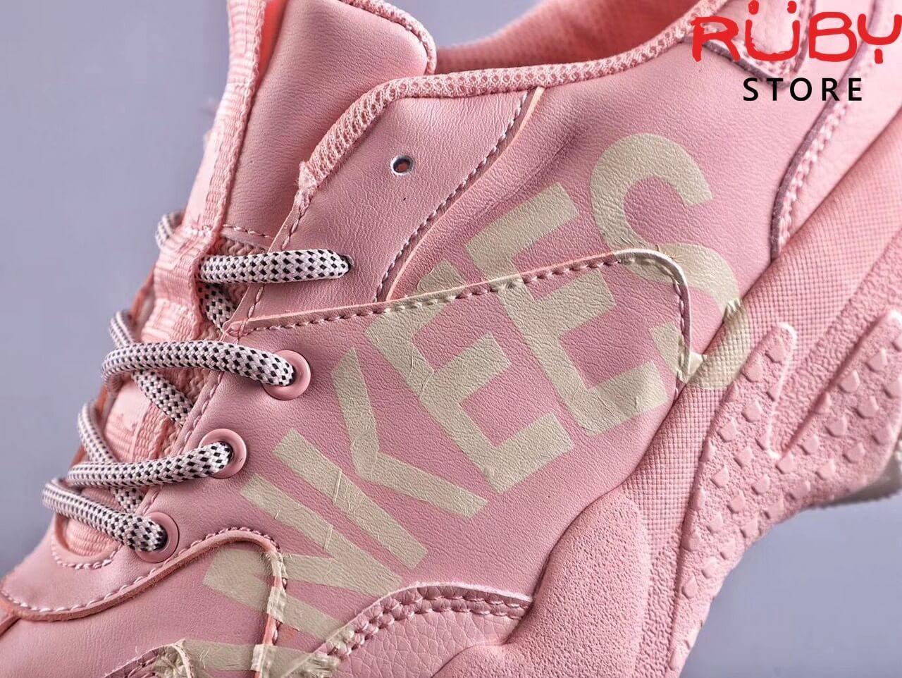 giày mlb new york yankees big ball chunky p pink replica 1:1