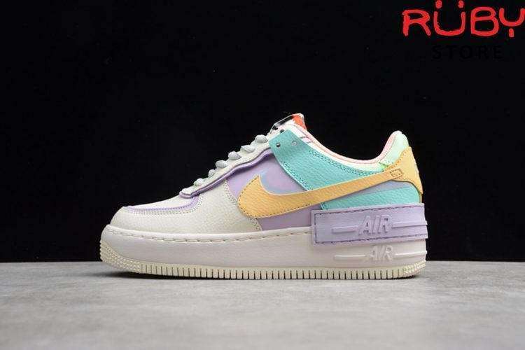 giày nike air force 1 shadow pale ivory replica 1:1 mới nhất 2019