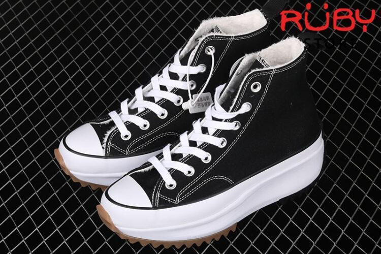Giày Converse X JW Anderson Đen Replica 1:1