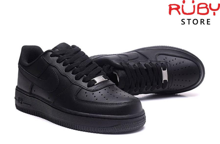 giày nike air force 1 black replica ở hcm