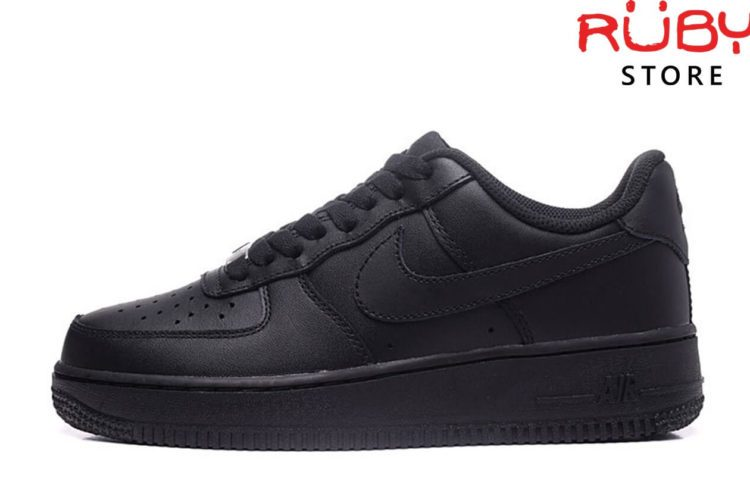 giày nike air force 1 black replica ở hcm