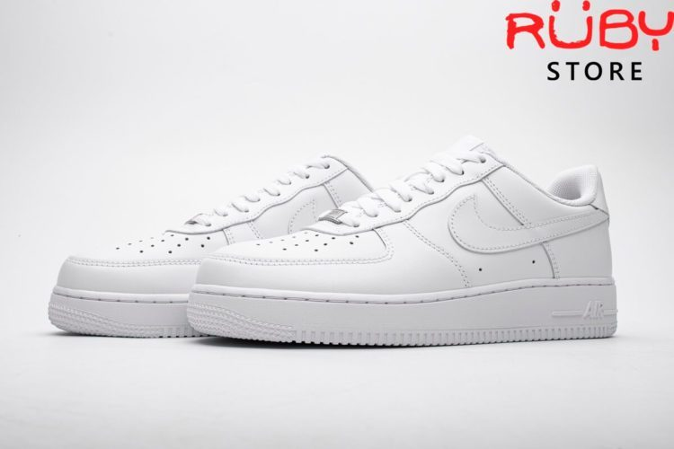 giày nike air force 1 white replica 1:1 ở hcm