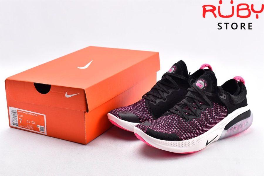 giày nike joyride run flyknit pink black replica 1:1 ở hcm
