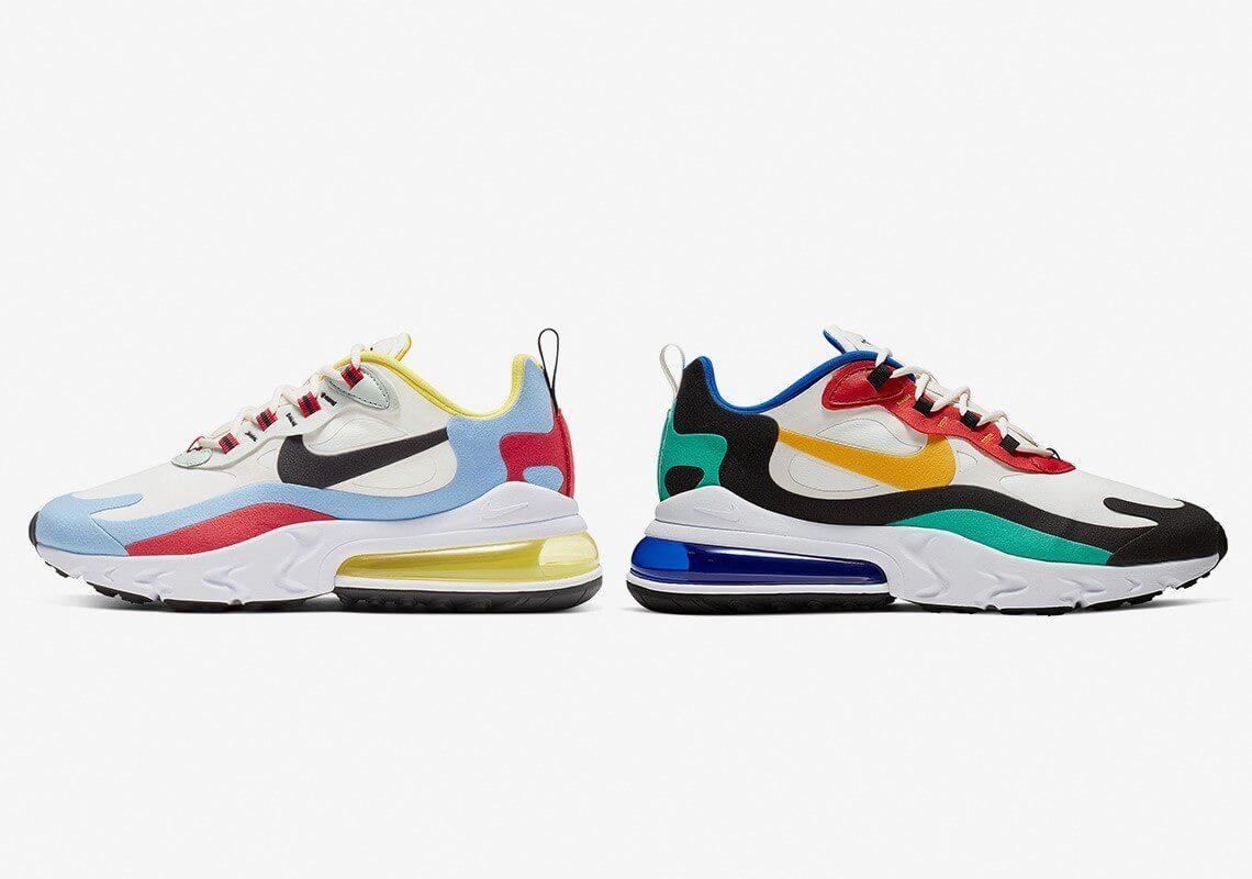 Kết hợp 2 công nghệ hoàn hảo trên Nike Air Max 270 React