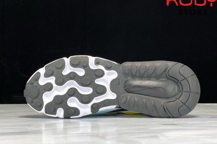 Giày Nike Air Max 270 React Trắng Tím Replica