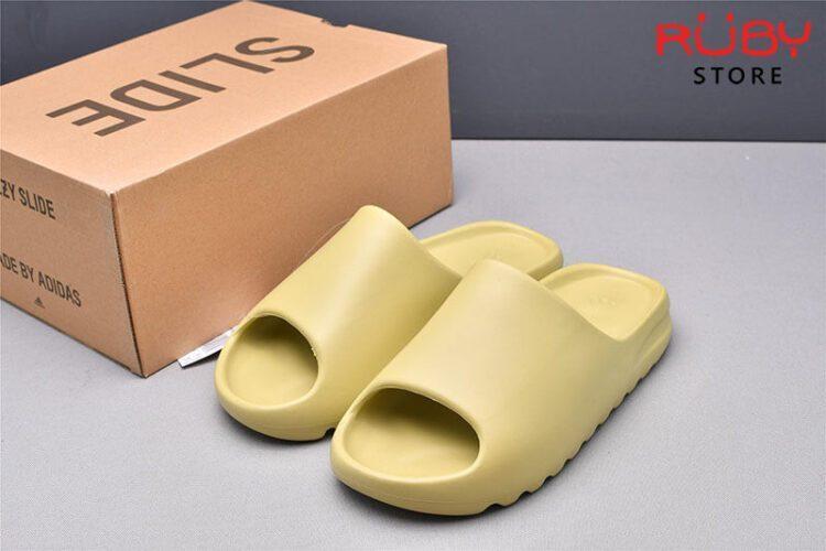 Dép Yeezy Slide Resin - Nhựa Xanh